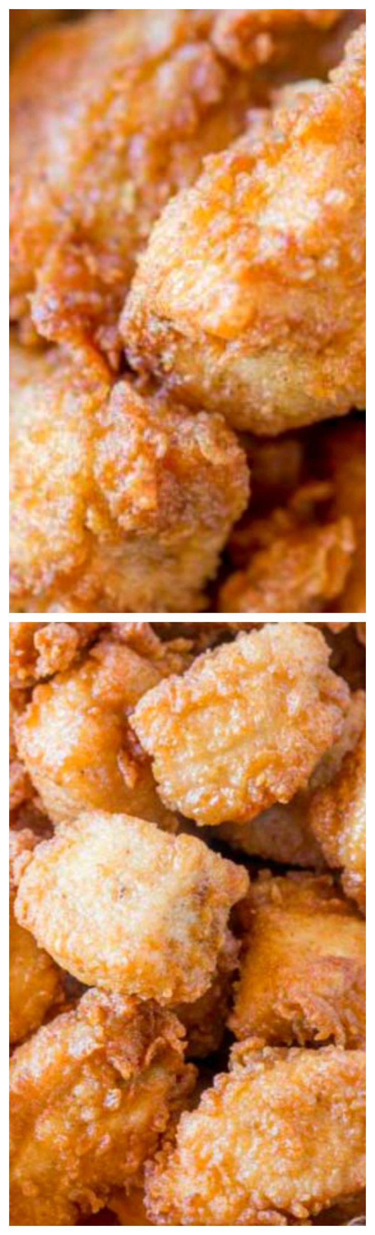 Chick-fil-A Nuggets ~ Made with chicken breast meat and no pickle juice are an spot on copycat of the original nuggets without the hefty price tag!
