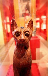 Its Reign Was Long, With Nine Lives to Start 'Divine Felines: Cats of Ancient Egypt' at the Brooklyn Museum