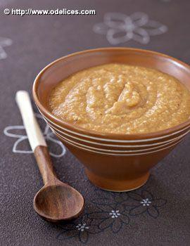 Soupe de lentilles corail au lait de coco et curry - les meilleures recettes de cuisine d'Ôdélices