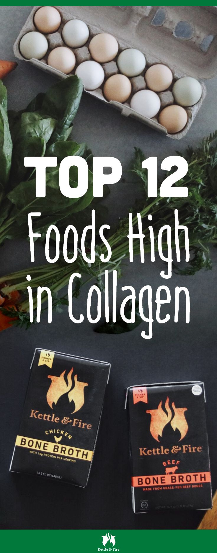 12 collagen foods to help slow down the aging process and keep your skin looking smooth. What are they? You might already have them in your kitchen.