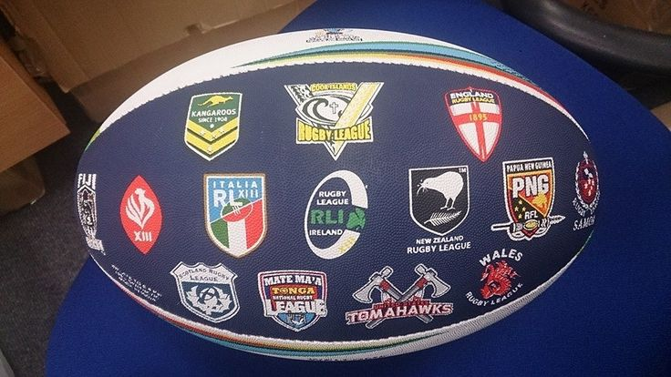 Rugby League World Cup ball -  For the best rugby gear check out http://alwaysrugby.com