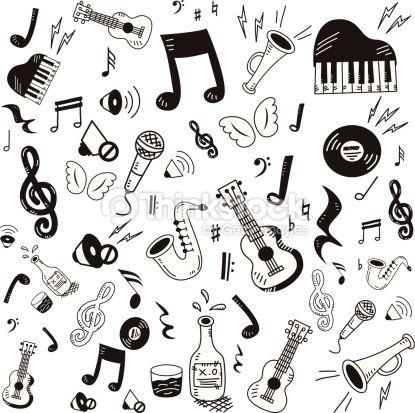 Dibujos Abstractos Sobre Musica