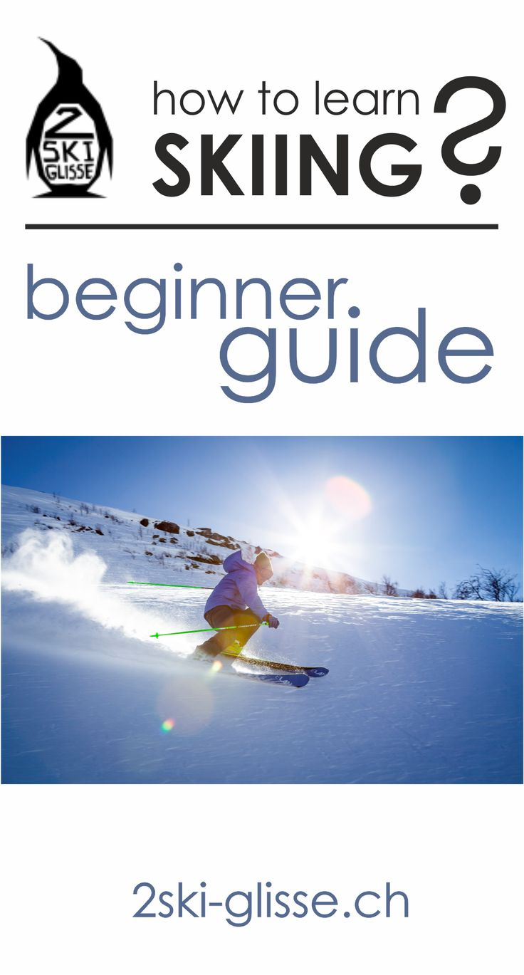 how to learn skiing? That's easy! skiing tips, ski equipment, ski sales, buy skis at 2ski-glisse.ch!