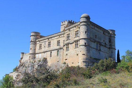 Château du Barroux. Le Barroux 84330. Languedoc.
