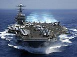 U.S. Navy group heading in the direction of Korean peninsula