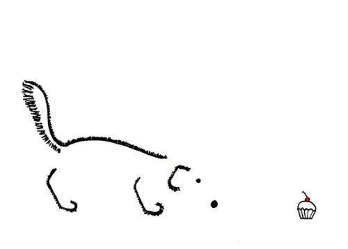 Cute+Dog+Drawing++Simple+Minimalist+Art+by+LittleShopofElleSee,+$14.50