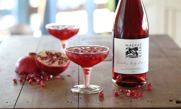 Maggie Beer's Sparkling Ruby Cabernet Gin Fizz