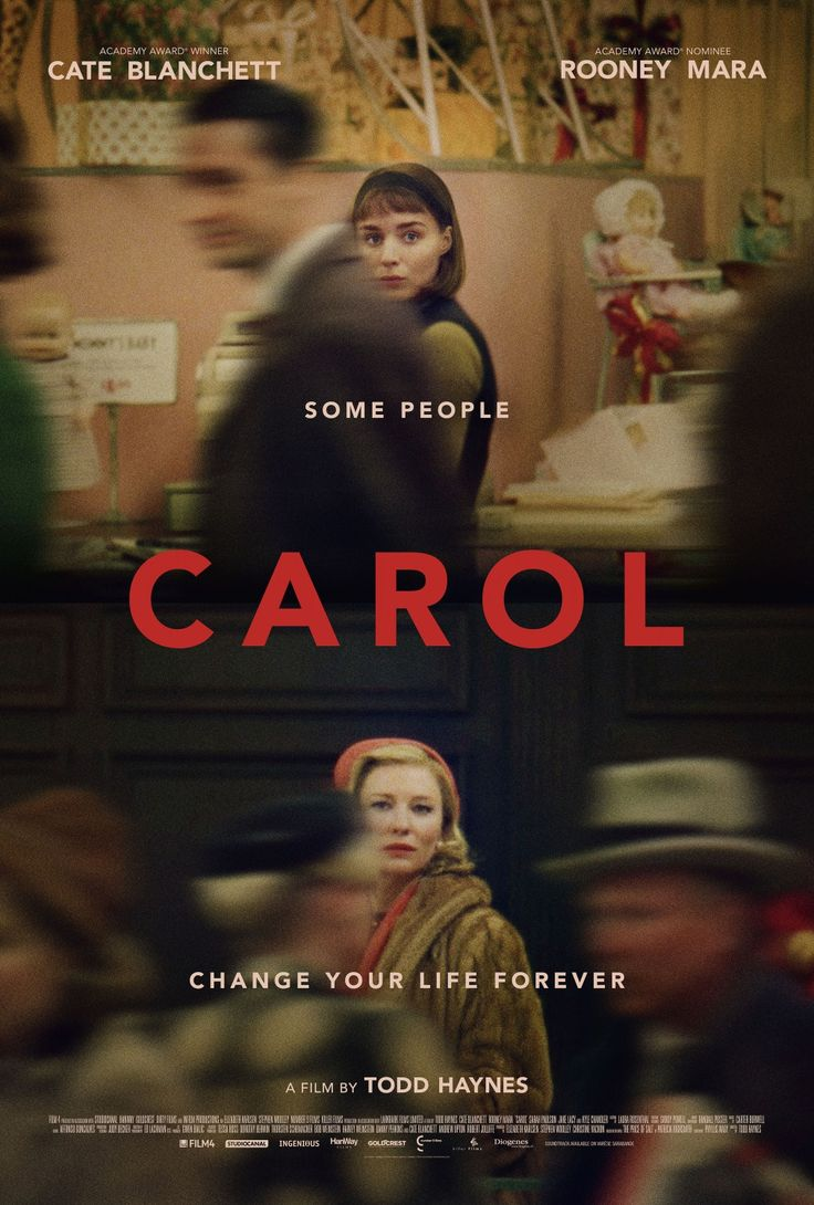 UK poster for CAROL (Todd Haynes, USA, 2015) Designer: TBD Poster source: IMPAwards
