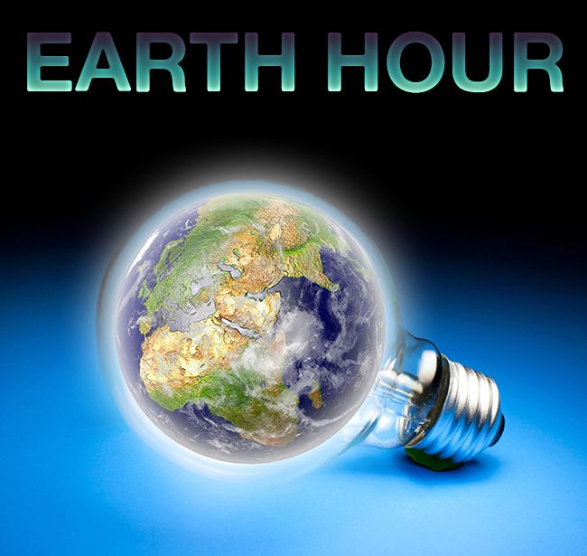 This year Earth Hour is at 8:30pm to 9:30pm on 25 March 2017.  Here are some great ways to enjoy while you conserve:   - Have a candle lit dinner  - Chat with your neighbors  - Stargaze  - Go camping  - Play board games - Have a concert or open mic  - Screen an environmental documentary  - Create or join a community event  - Plan how to make a difference in the coming year!   #ChangeClimateChange #EarthHour