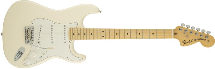 American Special Stratocaster® Maple Fingerboard Olympic White