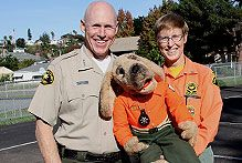 San Diego County Sheriff's Department | Simon the Safety Bloodhound