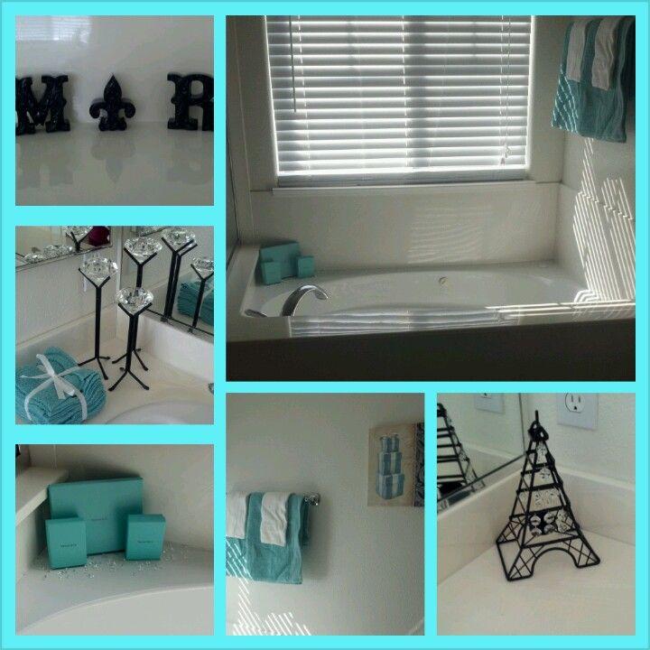Tiffany Blue Bathroom Designs : Paris Bathroom Decor on Pinterest  Tiffany blue paints, Tiffany blue ...
