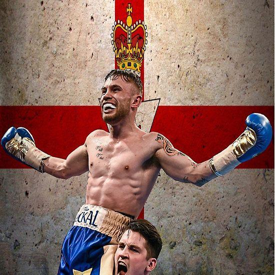 Carl Frampton Boxing World Champion Northen Ireland Flag
