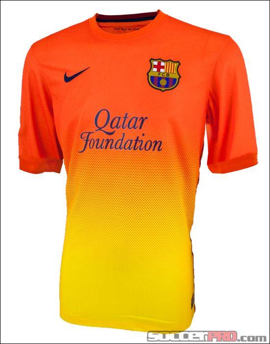 Nike Youth Barcelona Away Jersey 2012-2013...$62.99