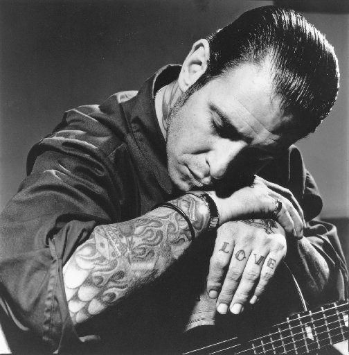 social distortion, this guy is so under rated as a song writer... Idk who else can really capture how you feel in a 3 nun song other than Mr. Cash