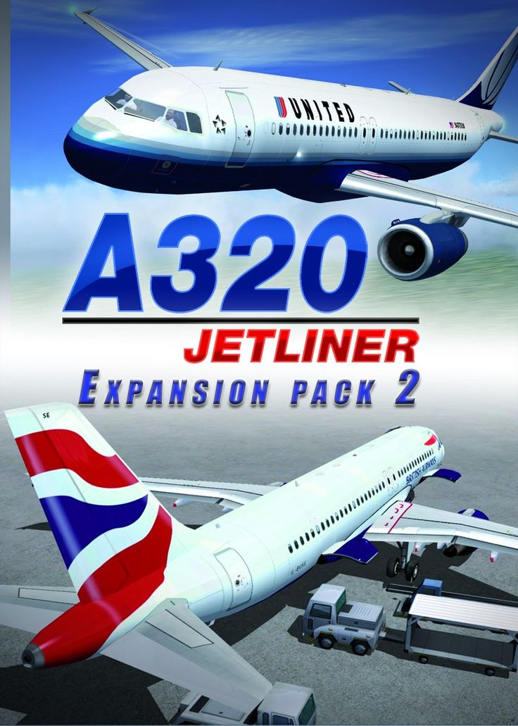 JUSTFLIGHT A320 Jetliner Livery Expansion Pack 2 (With