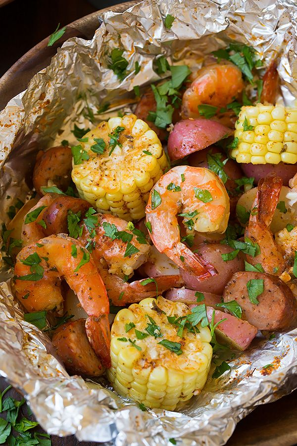 These Shrimp Boil Foil Packets are one of the easiest summer dinners, and you'll love that they are cooked on the grill so they'll keep all that heat outside. You'll also be so happy with how easy they are to throw together yet they are packed with delicious flavors. This is a dinner win for sure! Grilled Shrimp Boil Packets - Cooking Classy