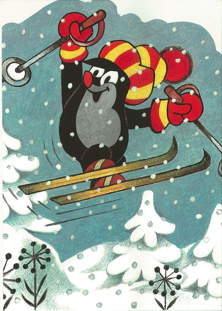 (2014-07) Muldvarpen på ski