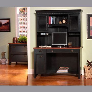 Antique Black And Hansen Cherry Home Office Suite Office Suite And Office Furniture