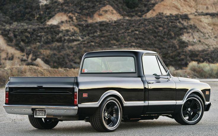 1968-シェビー-C10 車 高解像度で壁紙