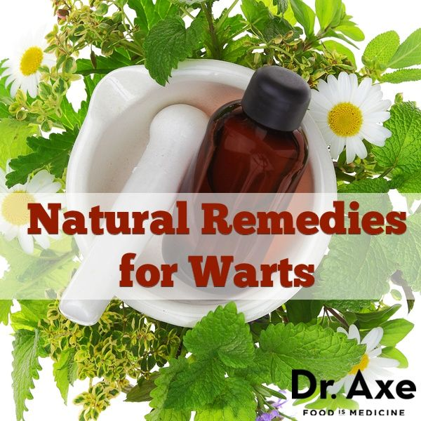 Natural remedies for warts from Dr. Axe