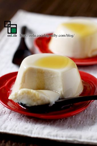 基本の豆乳プリン:うーらのオーガニックレシピ手帖