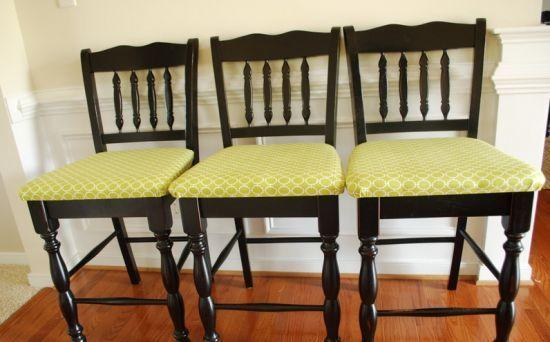 Decoração e Projetos Como Estofar Cadeiras de Madeira Passo a Passo