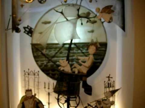 ▶ Kinetic Sculpture романтическое путешествие