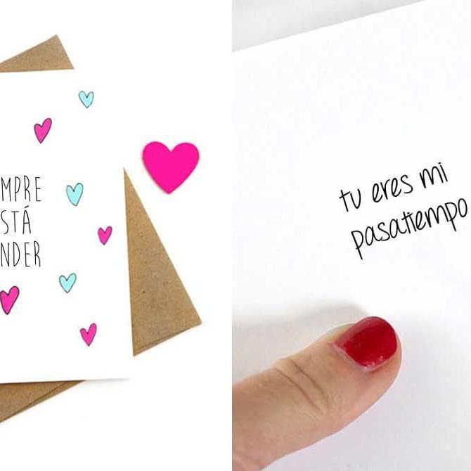 Tarjetas anti San Valentín para esas parejas con mucho sentido del humor