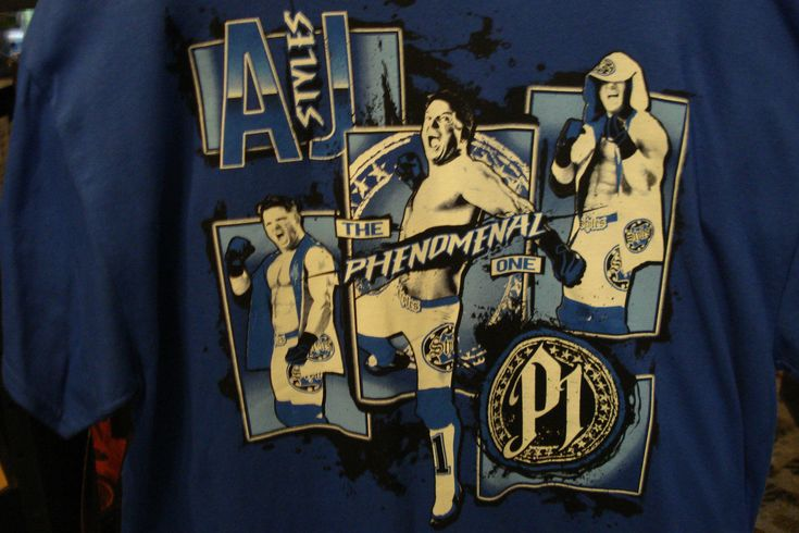 AJ Styles TNA 10 Years Of Total Nonstop Wrestling T-Shirt XL - http://bestsellerlist.co.uk/aj-styles-tna-10-years-of-total-nonstop-wrestling-t-shirt-xl/