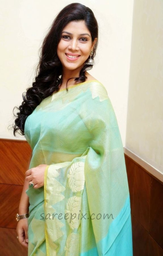 Sakshi-tanwar-in-transparent-saree-national-children-film-festival-2014