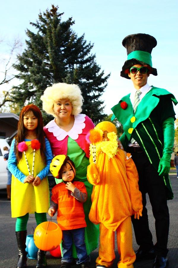 "Halloween Costumes  ""Dr Seuss The Lorax"""