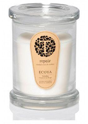 Ecoya Towra Sandalwood & Amber Metro Jar Candle