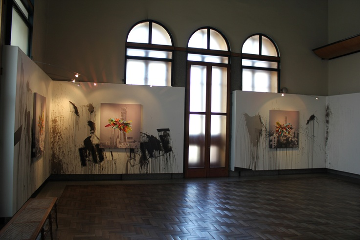 art work in gallery