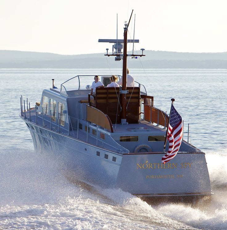 """45' Huckins """"Northern Spy""""   Downeast & Other Boats ..."""
