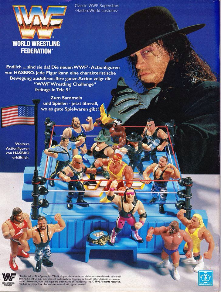 Toys From Hasbro : Undertaker wwf hasbro add wrestling pinterest