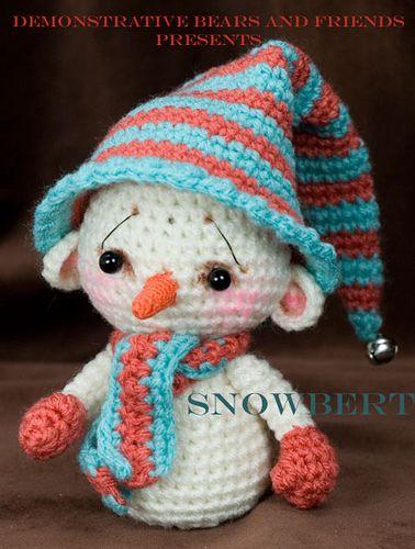 Crochet Pattern Central Christmas : Snowman amigurumis Pinterest Snow, Crochet and Nice