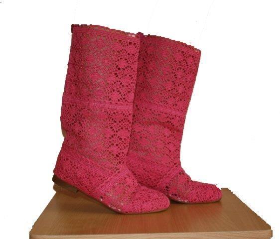 Красные кружевные туфли купить интернет магазин