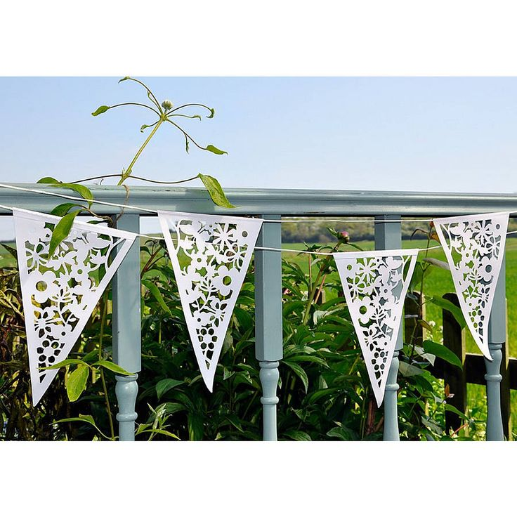 Paper Lace Bunting