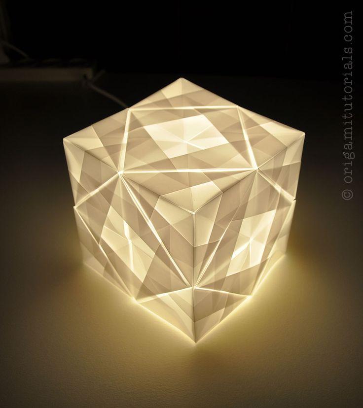 1000 images about lantern on pinterest paper lanterns for Paper lantern tutorial