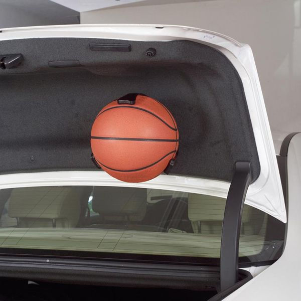 Balls to the Wall  -- The Ball Claw is a quick and easy way to organize your sport balls in the garage, basement, or any other imaginable place the device can be mounted. Preserve the life of your equipment while hanging them in an organized fashion. NEED.