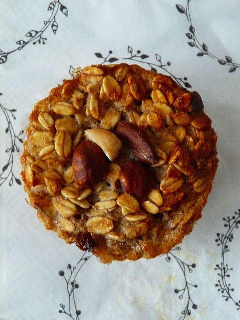 Kouzlo mého domova: Banánové muffiny s ořechy a nutelou - bez mouky