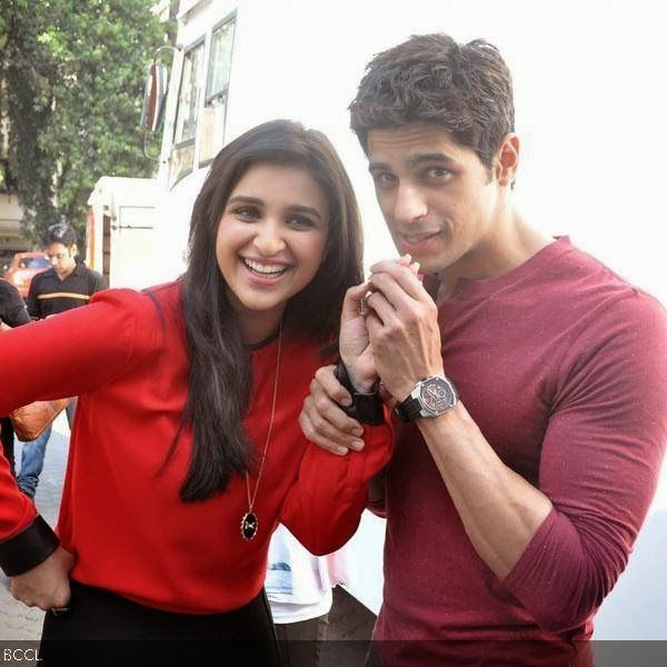 Parineeti and Siddharth Malhotra Promote in Hasee Toh Phasee