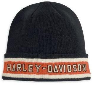 Harley-Davidson Men's Shift Boots & Knit Cap Bundle