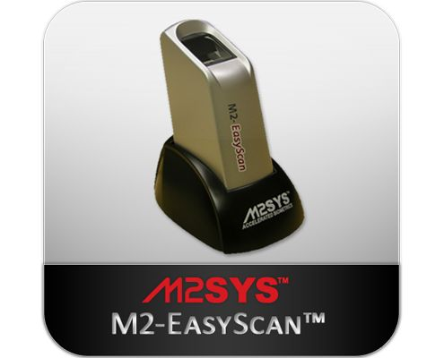 The M2-EasyScan™ fingerprint reader is a rugged, ergonomic fingerprint reader that ensures a consistent image quality and accurate results, even in high throughput environments. Powered by our Hybrid Biometric Platform™ fingerprint software, and award-winning Bio-Plugin™ biometric integration middleware, fingerprint recognition with this fingerprint scanner is permeating the commercial marketplace.