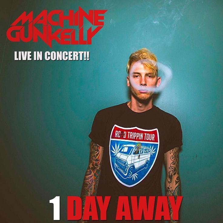 TOMORROW! #MachineGunKelly #MGK will be LIVE IN CONCERT at #TheRitzYbor with #Caskey.  TICKETS: www.theritzybor.com by theritzybor