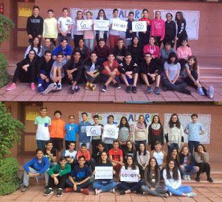 Crea y aprende con Laura: Alumnos del IES Calero y su profesor @cmorsoc desc...
