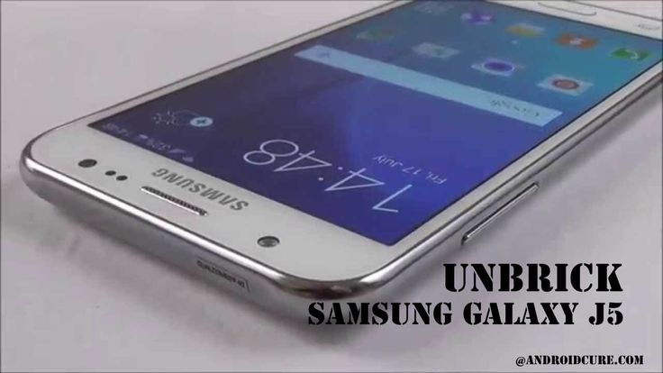 How to unbrick Samsung Galaxy J5 with stock firmware