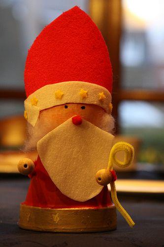 Saint Nicolas / Saint Nicholas - Bricolage or DIY at School