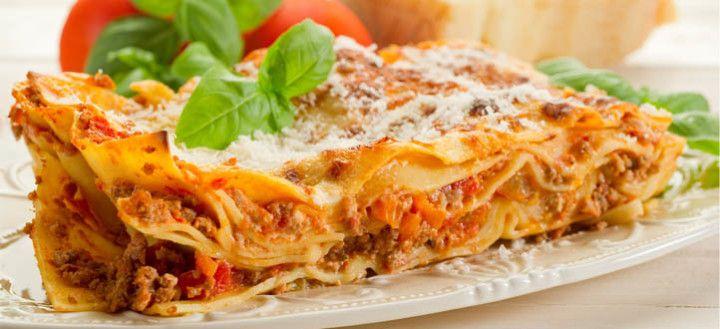 domáce cesto na lasagne
